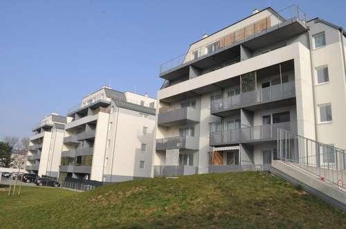Wohnen mit Stil! Neubau in Top-Lage! 3 Zi - mit Loggia! Küche inkludiert! Modernes Wohnen im schönsten Teil St. Pöltens!