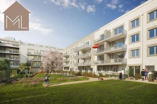 Provisionsfreie Erstbezugswohnungen! 2 Zimmer - mit Balkon! Nähe St. Pölten Hauptbahnhof!