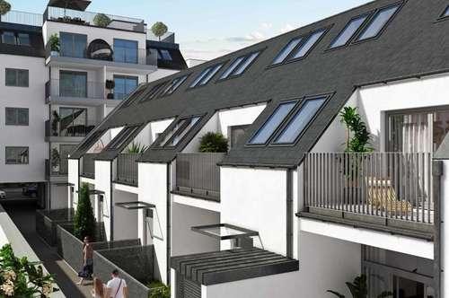 WEIHNACHTSAKTION: -3%! !Modernes Reihenhaus! Eigengrund! 4 Zimmer mit Terrasse und Balkon!Nahe U3