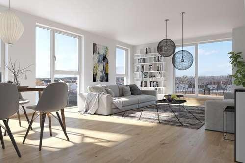 NEU AM MARKT! Provisionsfrei! Neubau in toller Lage - nähe Matznerpark! U4! 2 Zimmer - mit Terrasse!