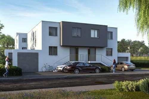 Neu am MARKT- Doppelhaushälfte mit Terrasse und Keller, sowie schönem Garten, Leben am Land.