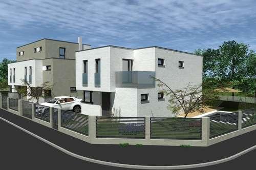 NATUR PUR, am Waldrand- Designerhaus mit 166 m², Terrasse, Balkon, Pool und Garage! Planen Sie Ihren Grundriss mit.!