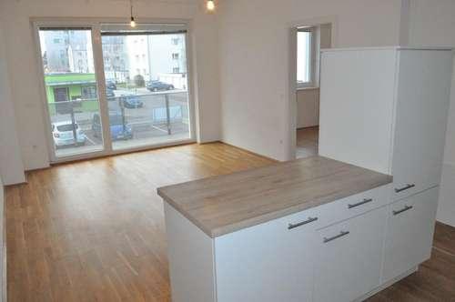 Wohnen mit Stil! 3 Zi - mit Loggia! Küche inkludiert! Modernes Wohnen im schönsten Teil St. Pöltens! Neubau in Top-Lage!