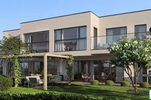 SCHÖNER ERSTBEZUG - Großzügiger Schnitt mit Terrassen und Garten - Kunststofffenster mit Raffstores inklusive