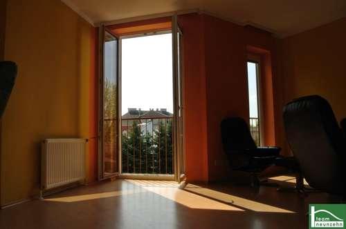 Natur Pur- GRÜNBLICK, Herrliche Wohnung mit sonnigem Balkon! Nähe Schwechat! Wien und Bruck an der Leitha!