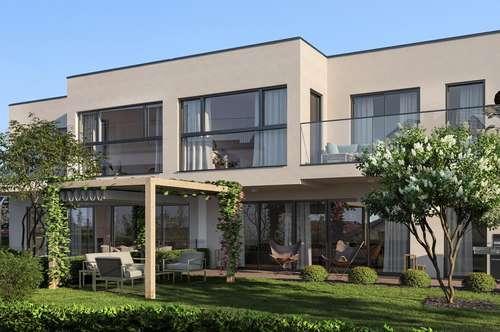 NATUR PUR- Designerhaus direkt am WALDRAND mit zwei Stellplätzen und Vollkeller. Nähe Autobahnknoten A5/ S1 und EKZ G3