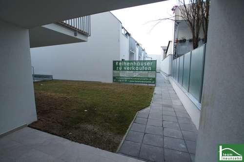 NEUBAU Moderne Reihenhäuser in Simmering mit Eigengrund, 4 Zimmer mit Terrasse und Balkon