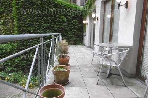 Expats - schöne, möblierte Altbauwohnung mit Terrasse!