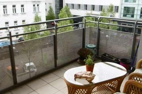 Balkonwohnung - Nähe Neubaugasse - Heizung/WW inkl.!