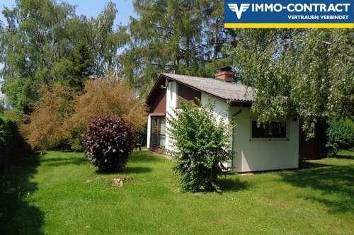 Schön gelegenes Grundstück mit kleinem Haus Nähe Bad Hall!