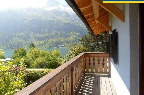 Tolle 3-Zimmer-Wohnung mit Badeplatz am Mondsee