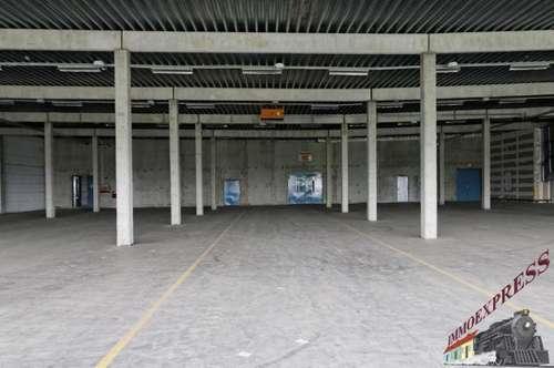 Preisgünstiges 1.300 m² Lager - Wien-Strebersdorf