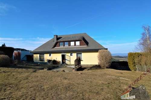 Ein-/Zweifamilienhaus - Doppelgarage - Fernblick