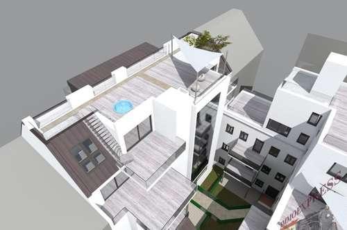 2 Terrassen & Eigengarten in Mariahilf!