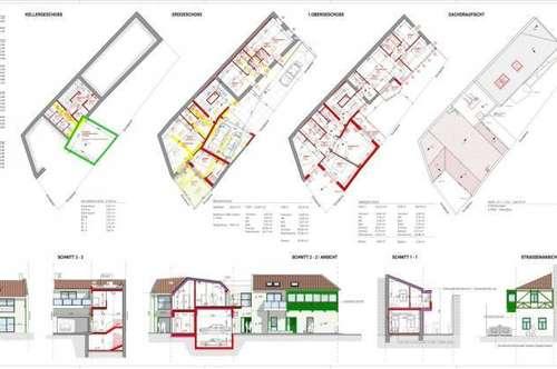 Bau-bewilligt! Tolles Bauprojekt für 4 Wohnungen sucht Bauträger!!!
