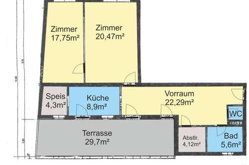 Große Wohnung in Nähe vom 1sten Bezirk