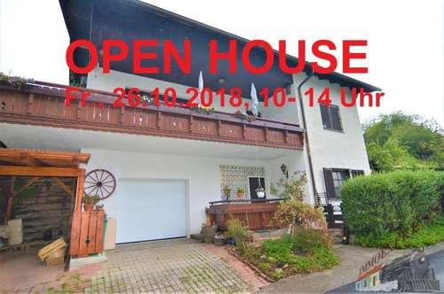 OPEN HOUSE am 26.10.2018 - Einfamilienhaus in absoluter Ruhelage - Fernblick