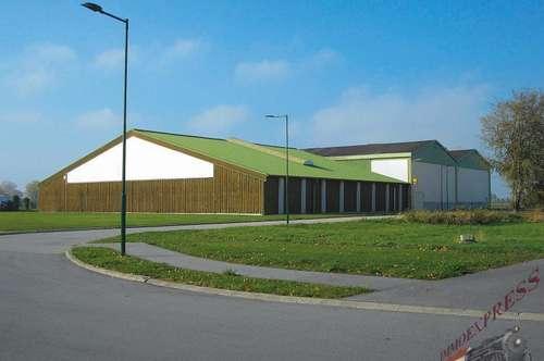 4-Platz-Tennishalle, Gastronomie und Wellness nahe Eisenstadt