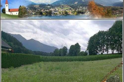 Sonniges u. ruhiges Grundstück in Seeboden/Lieserhofen