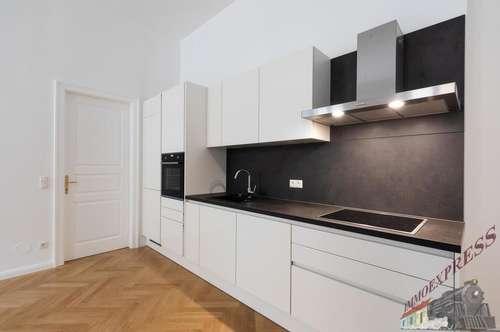 Hofseitig ausgerichtete 3-Zimmer Garten-Wohnung mit 2 Terrassen +Eigengarten Näher Mariahilfer Straße,Erstbezug!