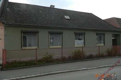 Kleines Eigenheim Nähe Retz sucht neue Bewohner!