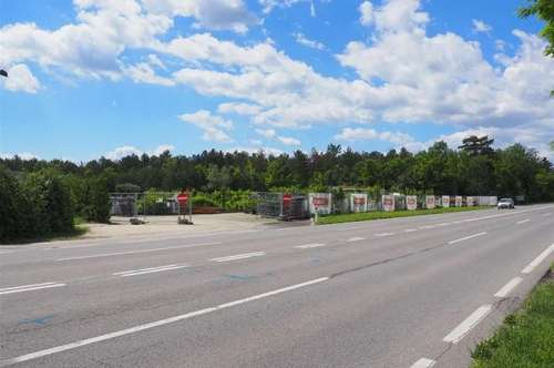Wr.Neustadt Neunkirchner Allee/B 17 - Industriegrundstück in unmittelbarer Autobahn-Nähe
