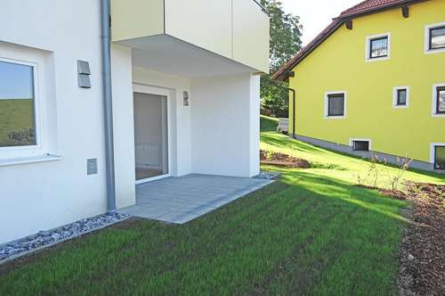 ERSTBEZUG: Gemütliche Gartenwohnung in St. Johann/Wbg.- sofort beziehbar!
