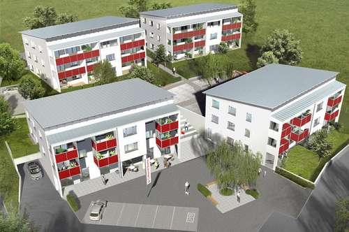 NEUBAUPROJEKT: 8 moderne Eigentumswohnungen in Haibach im Mühlkreis