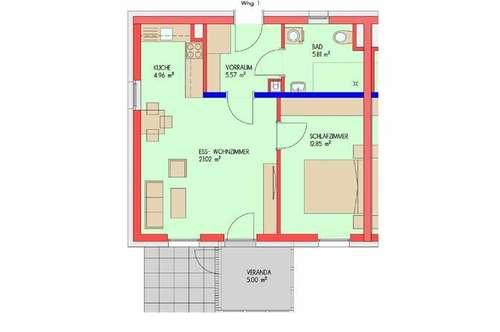 BETREUBARES WOHNEN: Schöne, barrierefreie Wohnung
