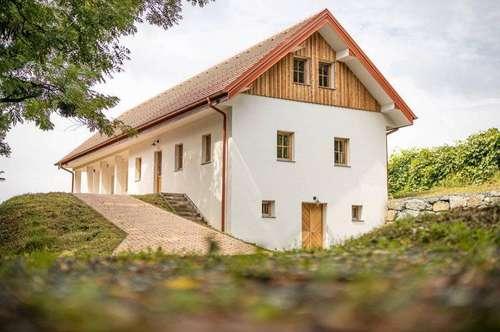 Südburgenland: Modernes Landhaus in Ruhelage