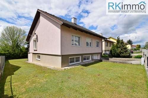 2130 Mistelbach gepflegtes Einfamilienhaus in Grünruhelage mit Garage !