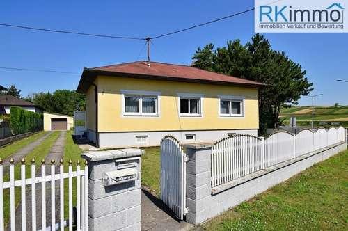 Einfamilienhaus am Orstrand von Schönkirchen (NÄHE GÄNSERNDORF)
