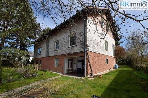 25 Minuten von Wien Mehrfamilienhaus, vollunterkellert mit Garage und großen Garten (Ruhelage)