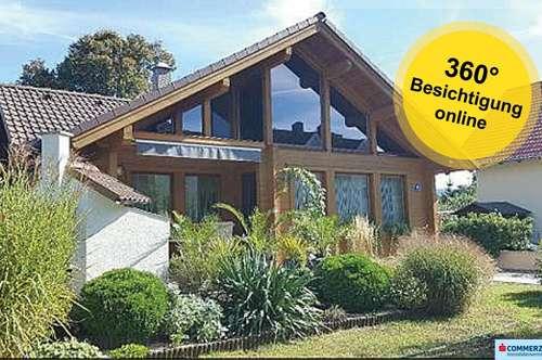 Tolles, neuwertiges ELK-Holzhaus mit Garage!