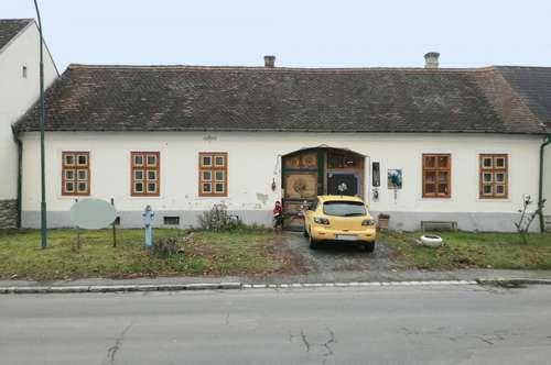 Uriges Bauernhaus mit angefangenen Renovierungsarbeiten