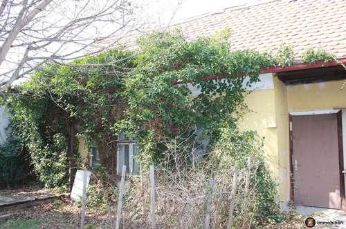 Altes, kleines renovierungsbedürftiges Häuschen mit Gartenbereich in Rechnitz