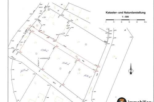 Nähe Kohfidisch: 4 Baugründe mit je ca. 1.200m² Gfl.