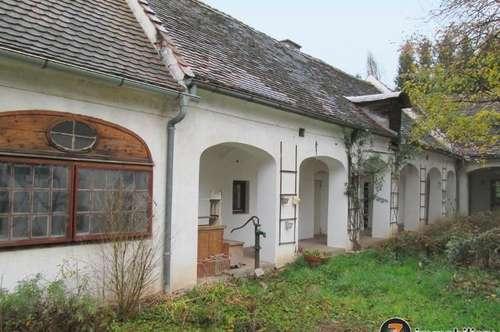 Jennersdorf: Wunderschöner Arkadenhof mit uneinsehbarem Innenhof