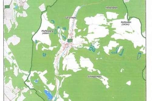 Waldgrundstücke auf 12 Flächen verteilt