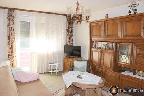 2-Zimmer Mietwohnung im Zentrum Stegersbach mit 2 Balkonen