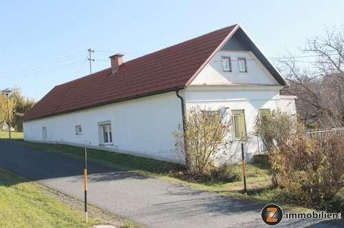 Teilrenoviertes Haus in Ruhelage