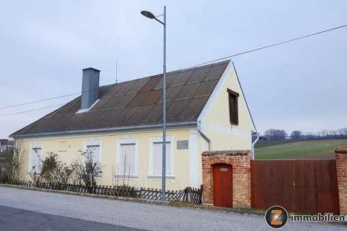 Gepflegtes Landhaus in Ortsrandlage mit Fernblick