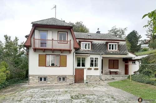 Rechnitz: Großes Wohnhaus in traumhafter Aussichtslage