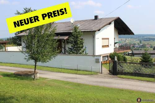 Gepflegtes Wohnhaus mit toller Aussicht Nahe Golf- u. Thermengemeinde Stegersbach