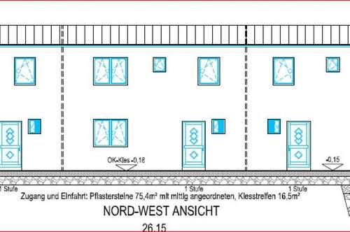 3 schlüsselfertige Niedrigenergie - Reihenhäuser in Wr.Neustadt