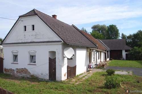 Nähe Oberwart: Ehemaliges Bauernhaus mit großzügigem Stadl