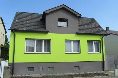 Nähe Mattersburg: Individuelles Haus mit privatem Innenhof und Einliegerwohnung