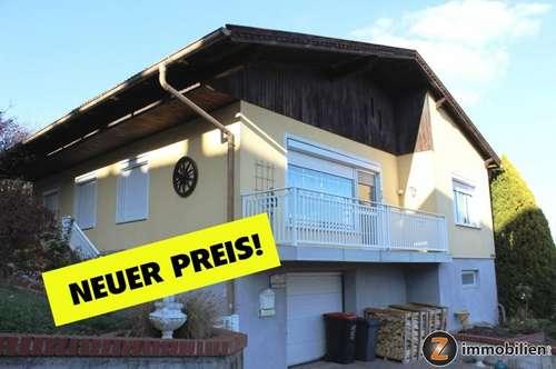 Großpetersdorf: Gepflegtes Haus in sonniger Ruhelage!