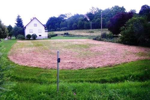 Baugrundstück am Ortsrand