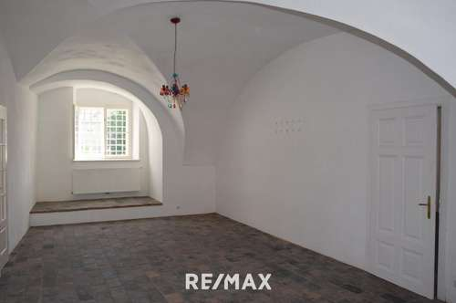 Ob WG, Atelier, Praxis, Schauraum, Büro oder Wohnraum entscheiden Sie selbst! Herrschaftliche Atmosphäre im Schloss Rohrau